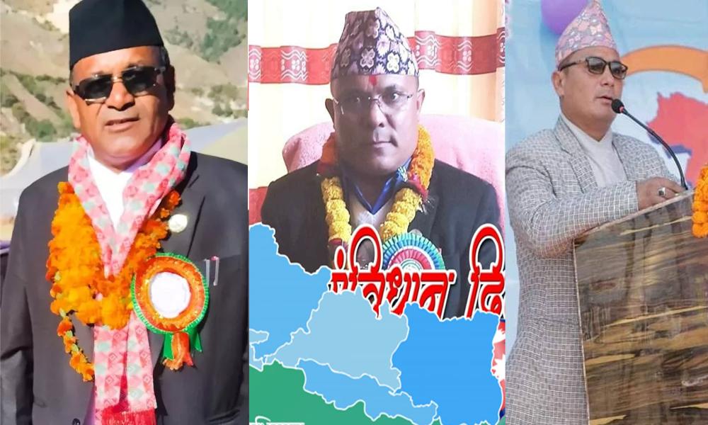 ओलीपक्षका दुई मन्त्रीसहित तीन सांसद प्रचण्ड–नेपाल पक्षमा